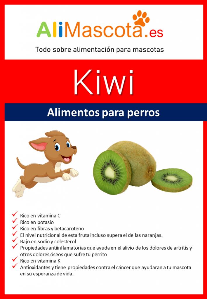 beneficios del kiwi para perros