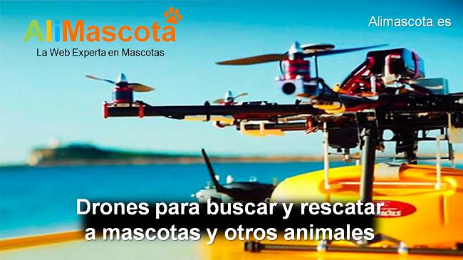 drones para salvar mascotas